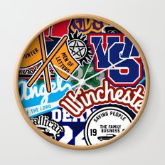 TEAM SPN Wall Clock