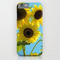 iPhone & iPod Case featuring Sunflowers by Christy Leigh