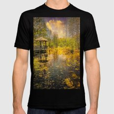 The Pond SMALL Mens Fitted Tee Black