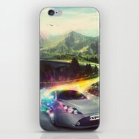 Superhighway iPhone & iPod Skin