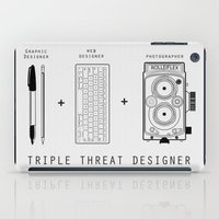 Triple Threat Designer iPad Case