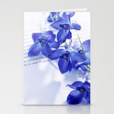 POEM AND FLOWER Stationery Cards
