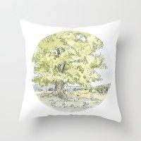 Crop Circle 03 Throw Pillow