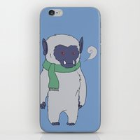 Yeti Boy iPhone & iPod Skin