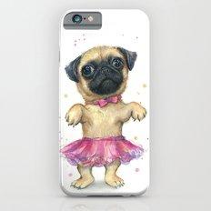 Pug In A Tutu | Cute Dog… iPhone 6 Slim Case