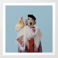 Polaroid N°43 Art Print