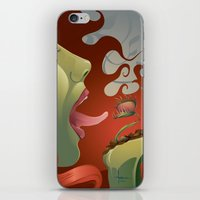 IVY's KISS iPhone & iPod Skin