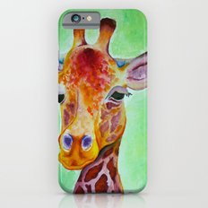 Colorful Giraffe Slim Case iPhone 6s