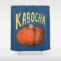 Kabocha Shower Curtain