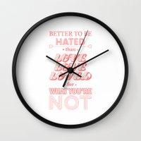 I Am Not A Robot ; Marina and the Diamonds (alternative) Wall Clock