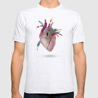 He(Art) Mens Fitted Tee Ash Grey SMALL