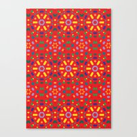Kaleidoscope Number 1 Canvas Print