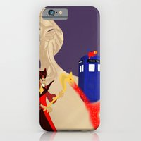 iPhone Cases featuring Jafar and the Box of Wonders  by Katá Mart