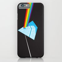 iPhone & iPod Case featuring The Darth Side of the Moon: Episode V Hoth by eyejacker