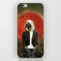 Sadcrow iPhone & iPod Skin