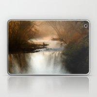 Foggy Alum Creek On A Ch… Laptop & iPad Skin