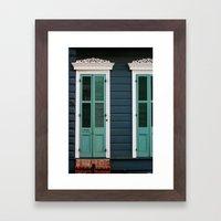 Creole Cottage Framed Art Print