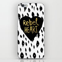 Rebel Heart iPhone & iPod Skin