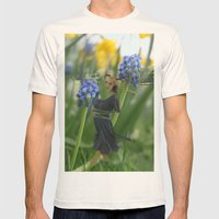 Flower Fairies Mens Fitted Tee Natural SMALL