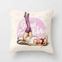 Miss Utah Throw Pillow