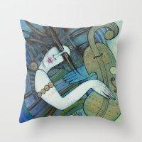 Violon D'Ingres Throw Pillow
