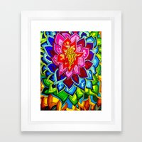 Bouquet 1  Framed Art Print