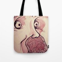 In Your Face Mr. Moustac… Tote Bag