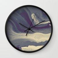 Marble Y Wall Clock