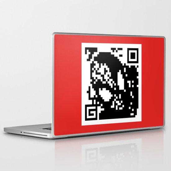 QR- Spiderman Laptop & iPad Skin