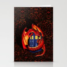 Red Dragon Wyvern Smaug … Stationery Cards