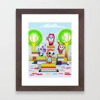 Pixy Wonderland Framed Art Print