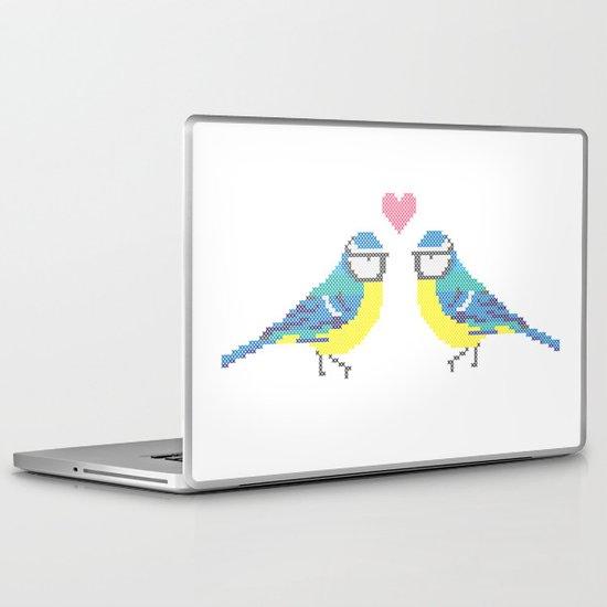 Stitch X Birds Laptop & iPad Skin