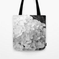 White Flowers No.2 Tote Bag