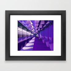 Pantone Ripples And Wave… Framed Art Print