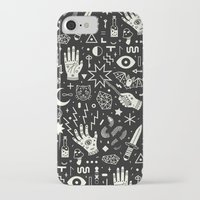 pattern iPhone & iPod Cases featuring Witchcraft by LordofMasks