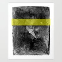 DAG IV (yellow) Art Print