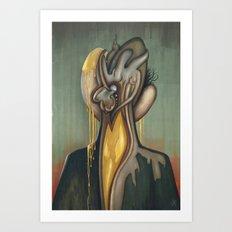 Traces of Id Art Print
