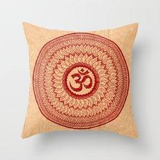 lialiom mandala Throw Pillow