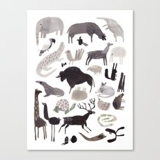 animaletti Canvas Print