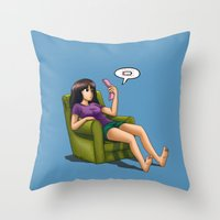 Batteryless Throw Pillow