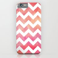 iPhone & iPod Case featuring Watercolor Chevron. by Digi Treats 2