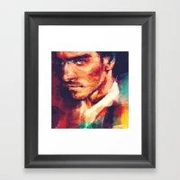 The Better Man Framed Art Print