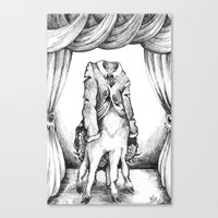 Haunted Clothing- The Co… Canvas Print