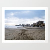 Mediterranean Sea Art Print