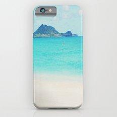 Kailua beach- Oahu iPhone 6 Slim Case