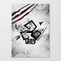 Teen Wolf: Part Of The P… Canvas Print