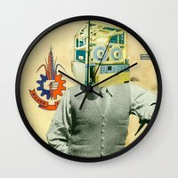 Eyeballs Wall Clock