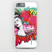 iPhone & iPod Case featuring Kimbra 90s Music by Daniel Cash