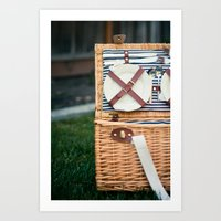Time for a Picnic Art Print