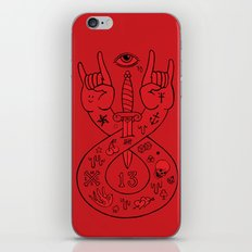 lament red iPhone & iPod Skin